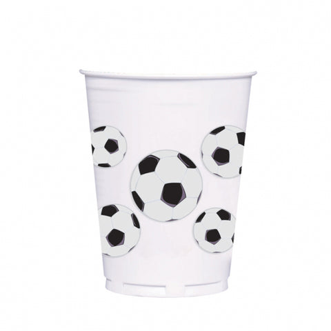 Soccer Fan Plastic Cups