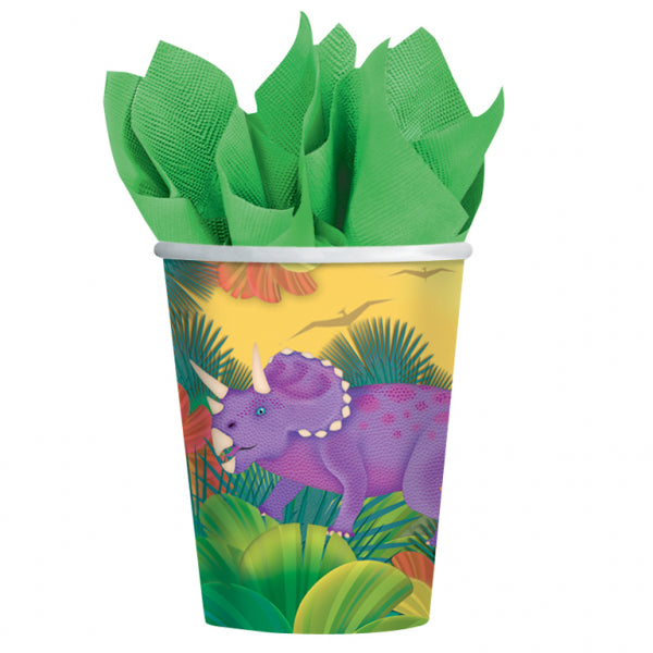 Prehistoric Party Paper Cups