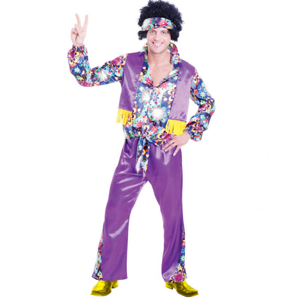 70s Groovy Guy Costume - Size Standard
