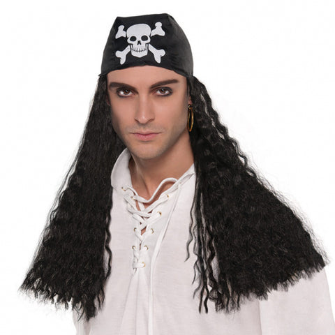 Pirate Bandana Wig