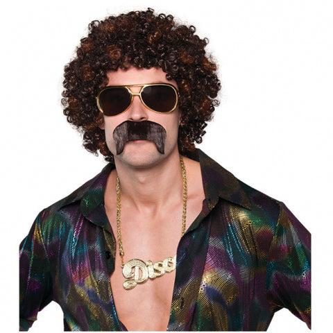 Adults Disco Hound Wig Set - FiestaPartyStore.com