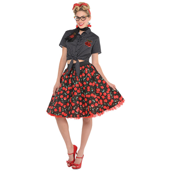 Rockabilly Blouse