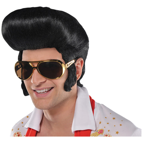 50s Classic The King Wig - FiestaPartyStore.com