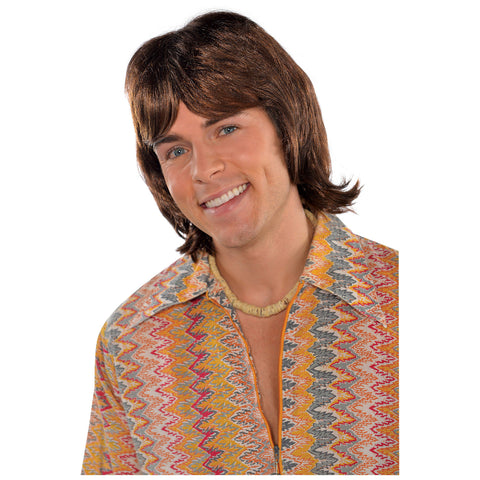 70s Disco Fever Heartthrob Wig - FiestaPartyStore.com