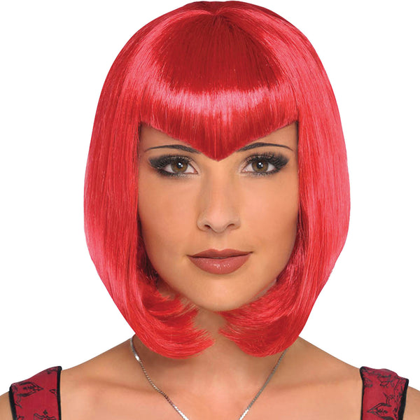Sultry Red Wig