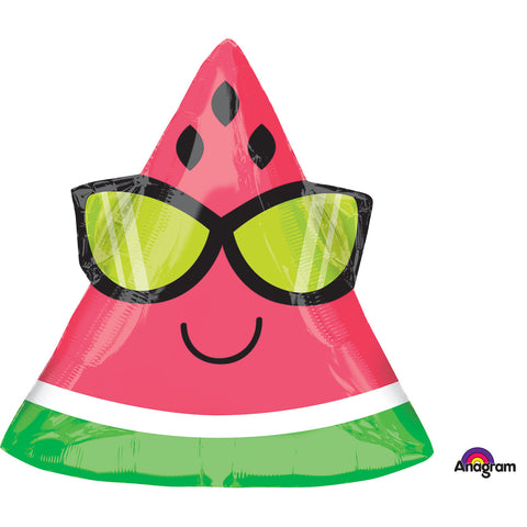 Watermelon Junior Shape Foil Balloon