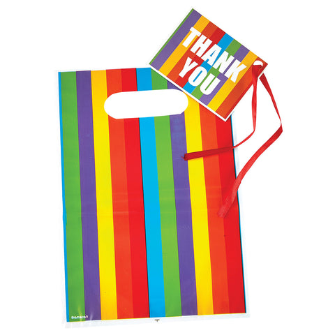 Rainbow Loot Bags & Tags