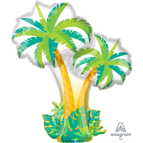 Tropical Palm Trees SuperShape Foil Balloon