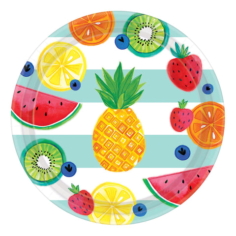 Fruit Salad Paper Plates