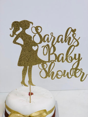 Baby Shower Cake Topper,Personalized Baby Shower Cake Topper - FiestaPartyStore.com