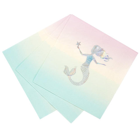 We Heart Mermaids Napkins