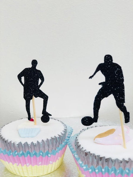 Footballer Cupcake Picks