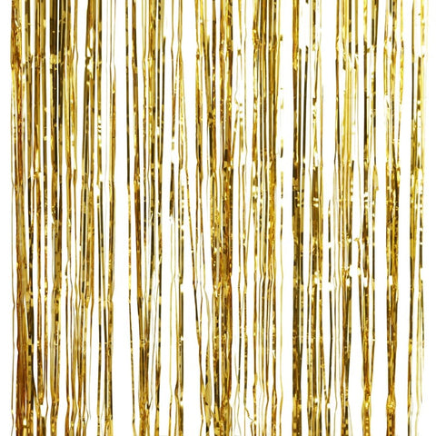 Gold Foil Fridge Curtain Decoration