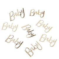 Gold Foiled Baby Confetti