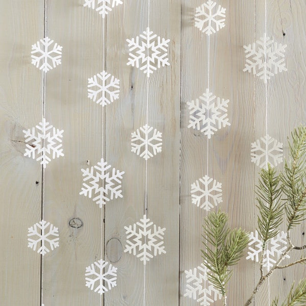 Snowflake Shaped Garland