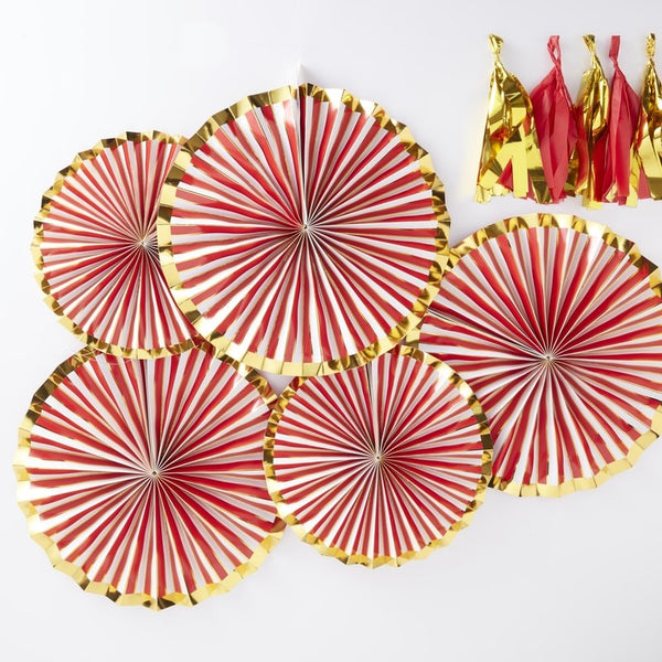 Candy Fan Decorations