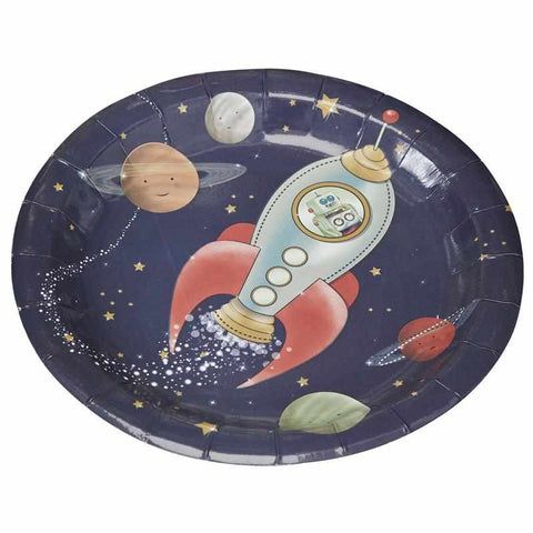 Paper Plates - Space Adventure Party