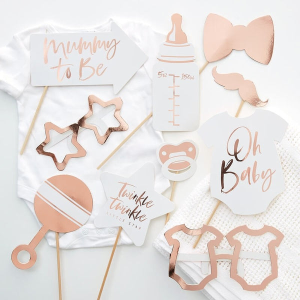 Baby Shower Photo Booth Props - Twinkle Twinkle