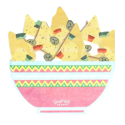Nachos Shaped Paper Party Napkins