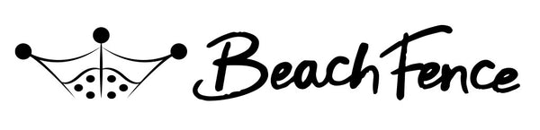 Beach Fence Logo beach windscreens
