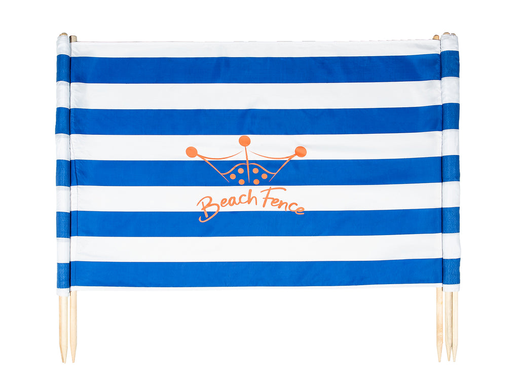 Classic Nautical - Beach Windscreen - Beach Comfortable!