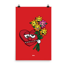 Load image into Gallery viewer, Love Flowers Poster