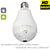 960P Wifi Panoramic 360 degree Camera Wireless IP Light bulb Mini Camera 1.3MP 3D VR Security Bulb WIFI Camera Two Way Audio P2P