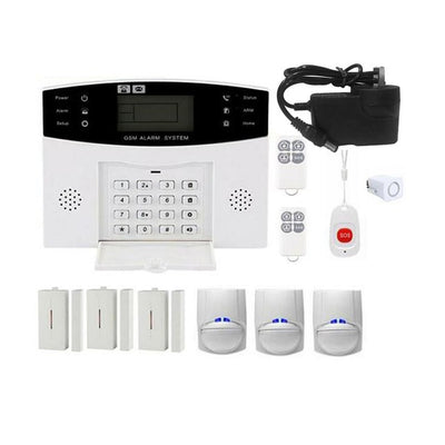 Wireless Home Burglar Alarm System SOS Motion Door Window Sensor Security Auto Home Security Safe Alarm System