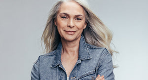 How To Make Your Gray Hair Shine Naturally