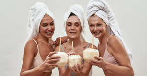 If you want to start fresh like these 3 women drinking coconut water while enjoying their self-care time, follow these 6 Ways to Start Fresh for the New Season