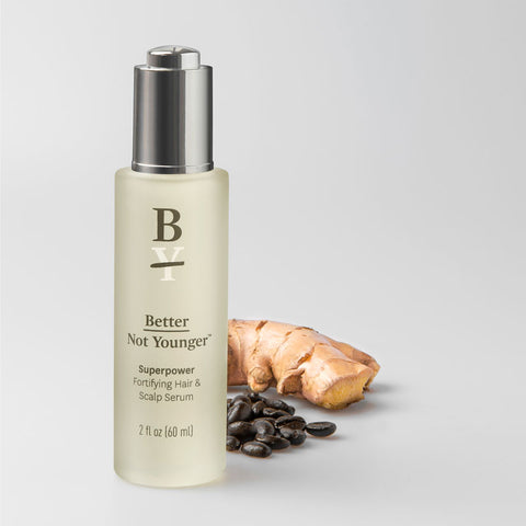 Superpower Fortifying Hair & Scalp Serum by better not younger