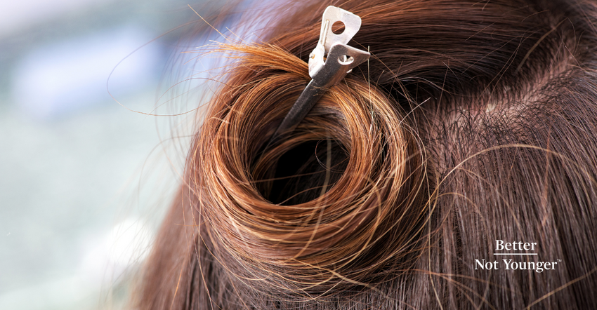 How to Curl Your Hair Without Heat: Tie the knot