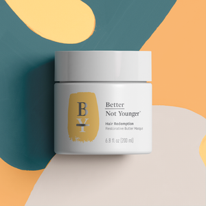 Better Not Younger Hair Redemption Restorative Butter Masque Aging Hair Care