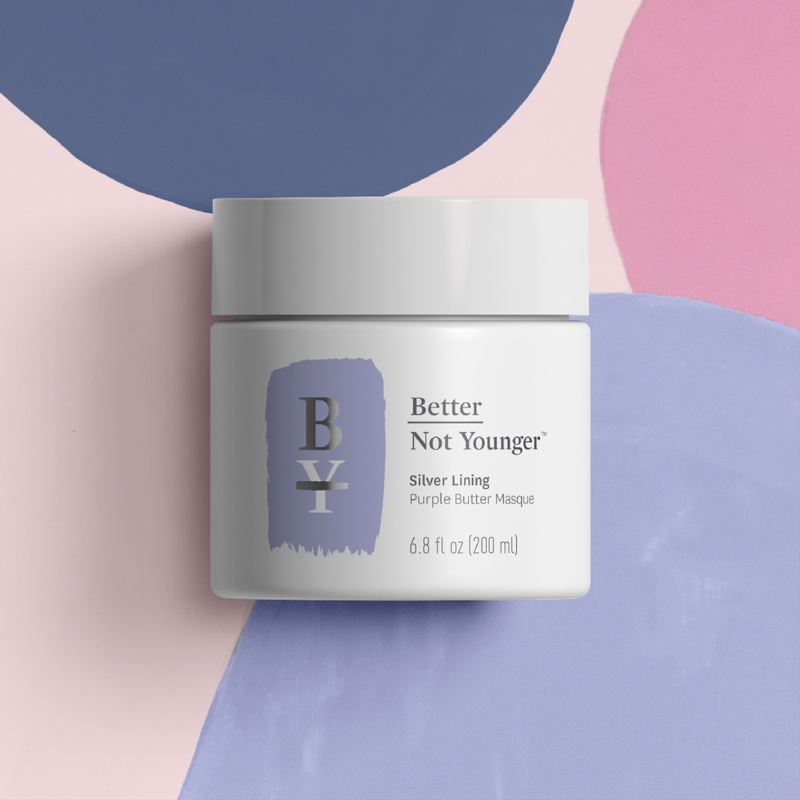 Better Not Younger Silver Lining Purple Butter Masque Aging Hair Care