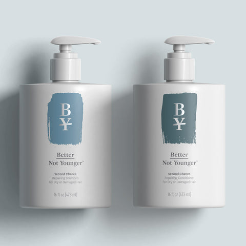 Second Chance Repairing Shampoo for Dry or Damaged Hair By Better Not Younger