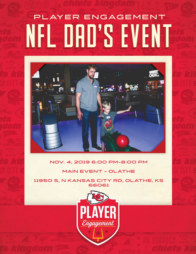 KC Chiefs NFL Dad's Event