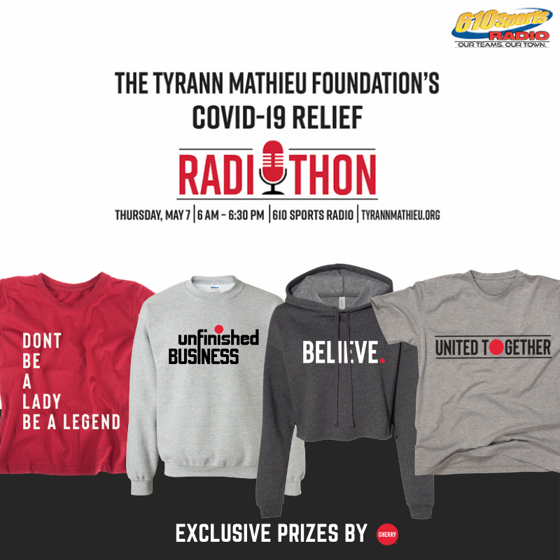 Tyrann Mathieu Foundation's Covid-19 Relief Radiothon