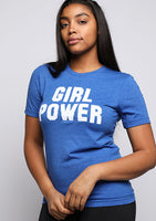 Girl Power Blue