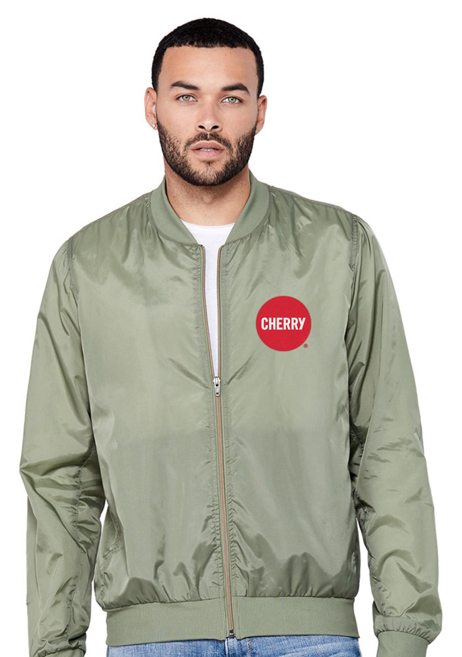 Cherry Bomber Jacket