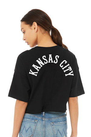 KC  Monarch Crop Tee