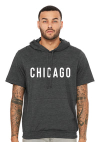 Chicago Jersey Short Sleeve Hoodie