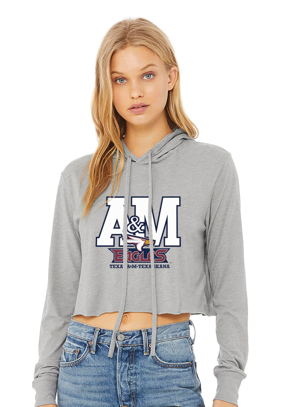 Texas A&M Cropped Hoodie
