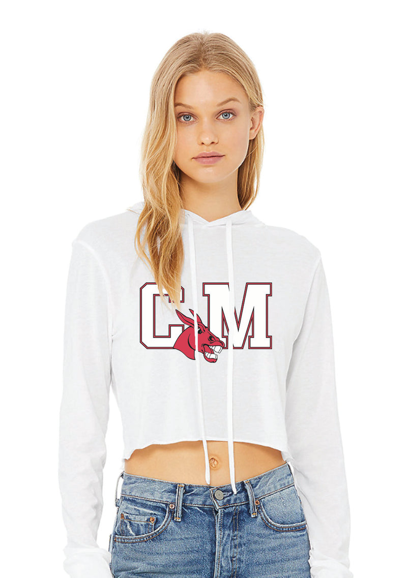 Central Missouri Cropped Hoodie