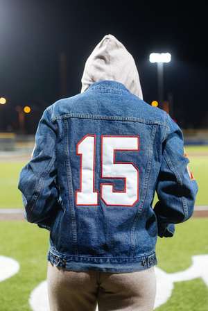 KC Mahomes  Denim Jacket