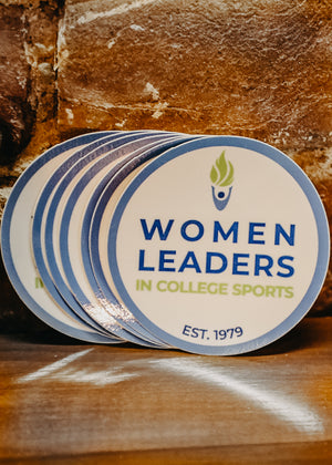 Women Leaders in College Sports  Decal