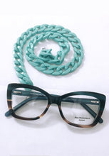 Carregar imagem no visualizador da galeria, Corrente salva oculos verde Tiffany CSOCORTY1