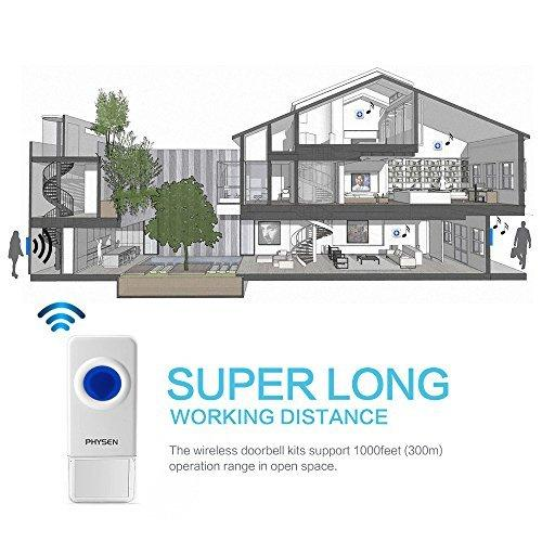Wireless Doorbell CWB working distance