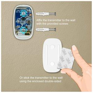 Wireless Doorbell CWA push button inside