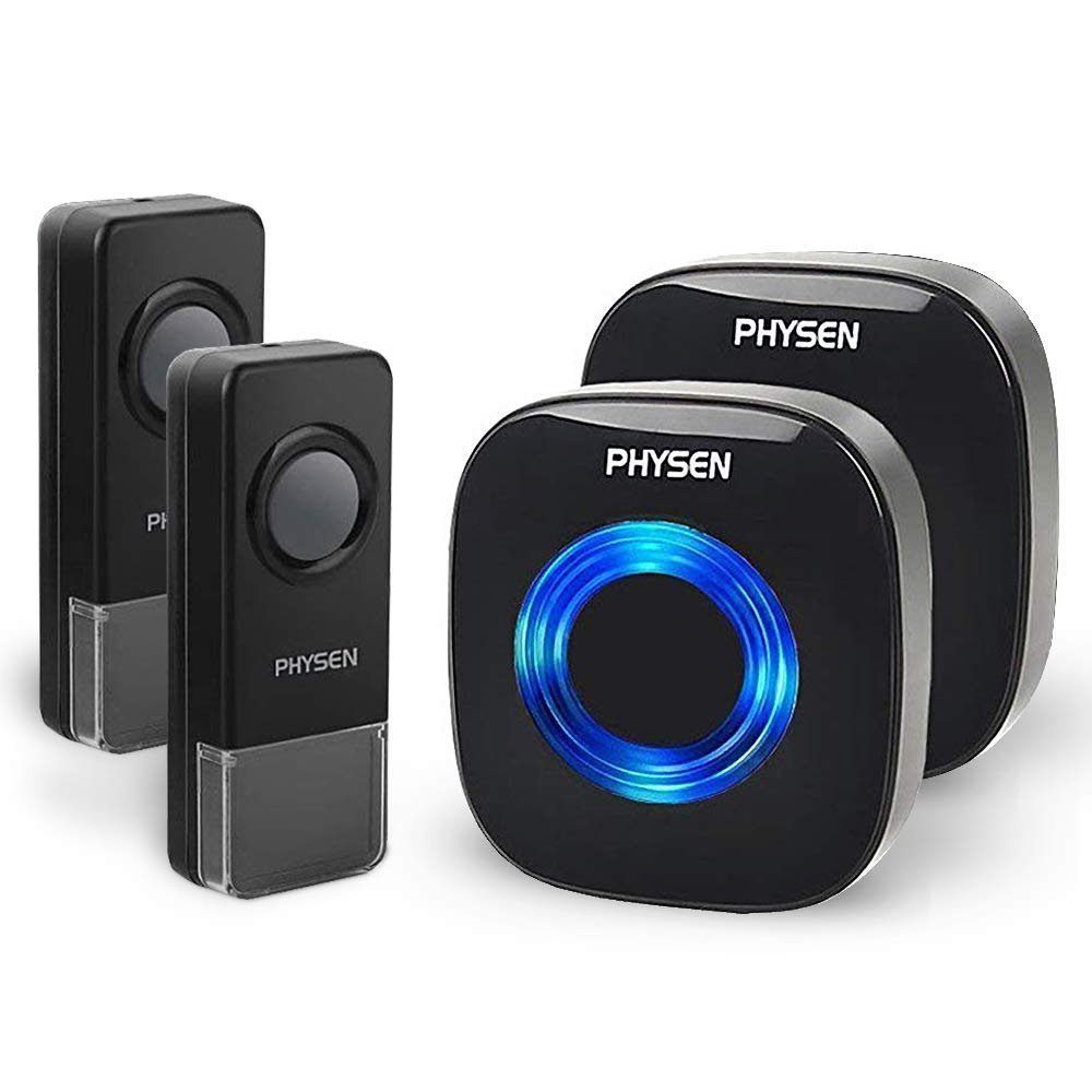 wireless doorbell CWB-2T2-black