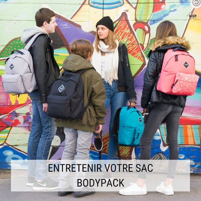 Store your Bodypack bag